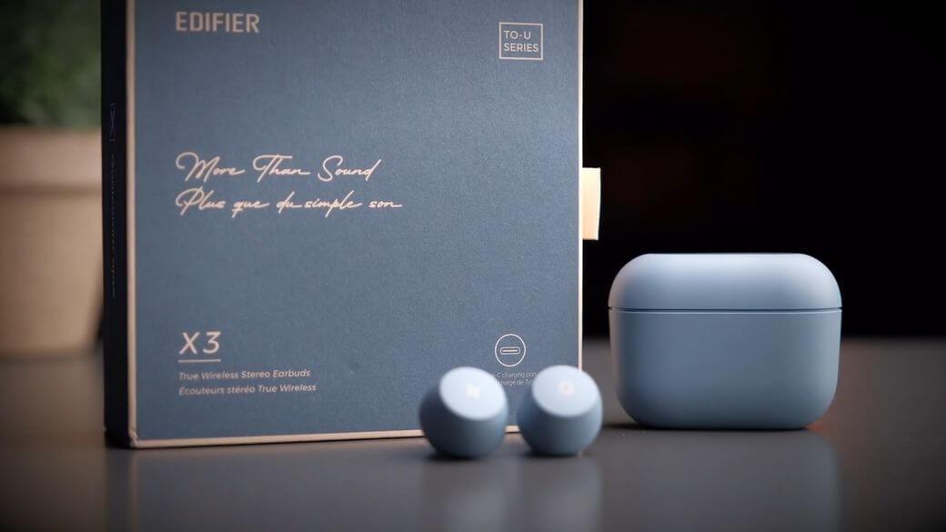 Edifier X3 To u Обзор: Улучшенные TWS наушники за $30