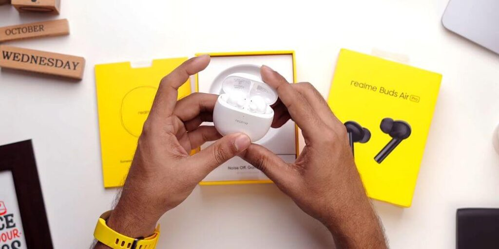 Realme Buds Air Pro Обзор: TWS наушники с ANC за $70