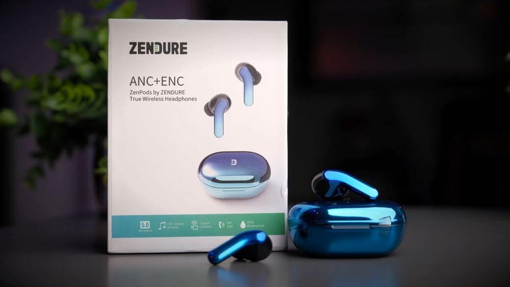 Zendure Zenpods Обзор: Флагманские ANC наушники по низкой цене
