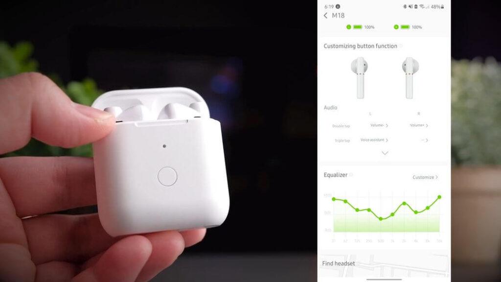 QCY M18 Обзор: Бюджетные TWS наушники с Bluetooth 5.1