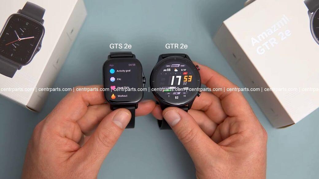 Amazfit GTR 2e и GTS 2e Обзор: Сравнение двух модификаций умных часов 2021