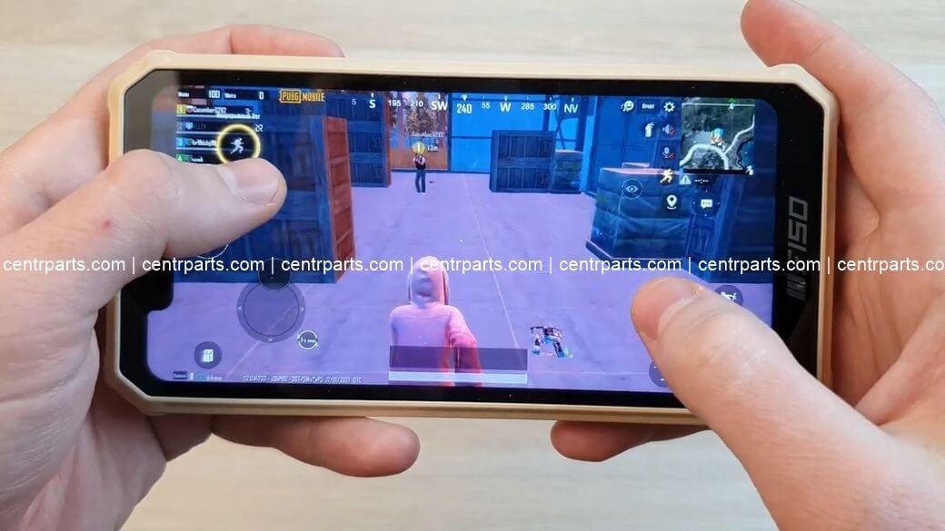 F150 B2021 Обзор: Защищенный смартфон с 8000 мАч и NFC за $110 PUBG Mobile