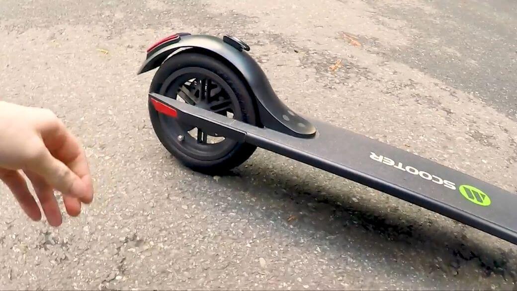рама и заднее колесо Megawheels S5