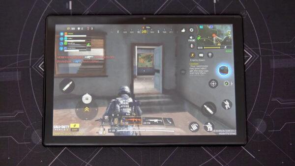 Teclast M40 игра PUBG MOBILE