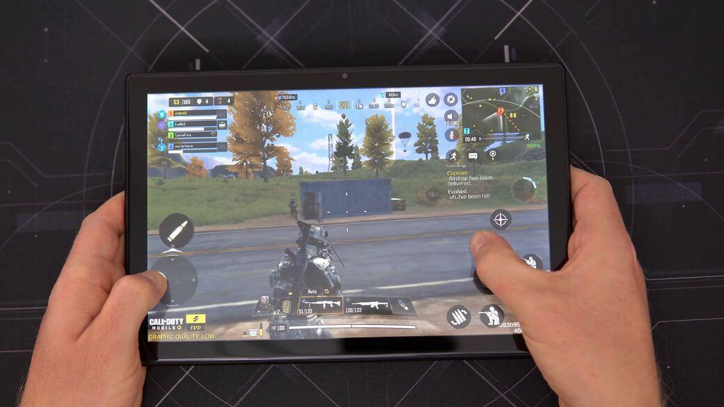 Teclast M40 геймплей PUBG Mobile