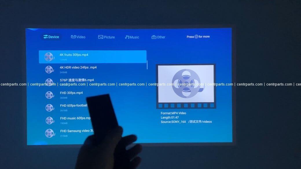 Xiaomi Changhong C300 Обзор: Премиальный DLP 1080P Проектор 2021 года
