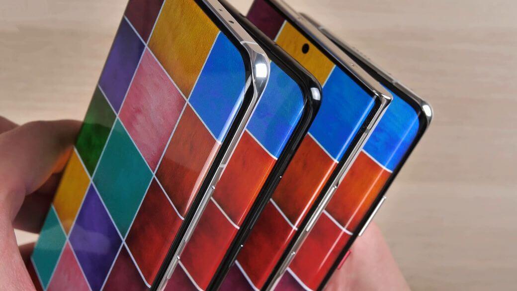 Xiaomi Mi 11 углы обзора и сравнение экранов