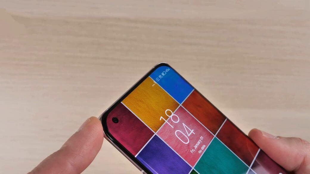 Xiaomi Mi 11 селфи камера