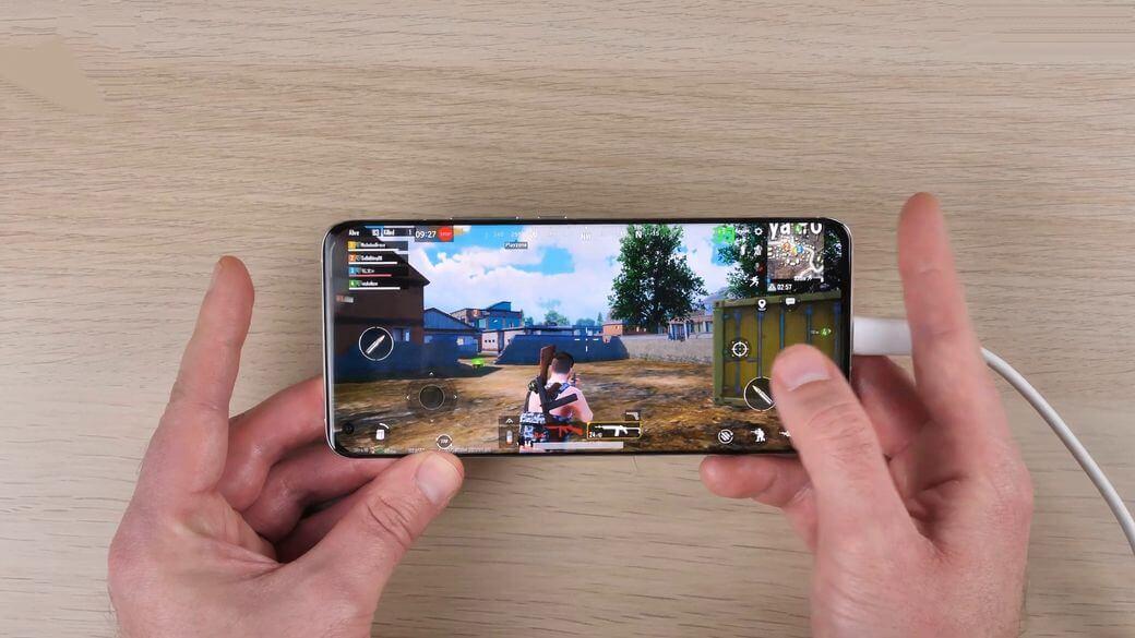 Xiaomi Mi 11 геймплей PUBG Mobile