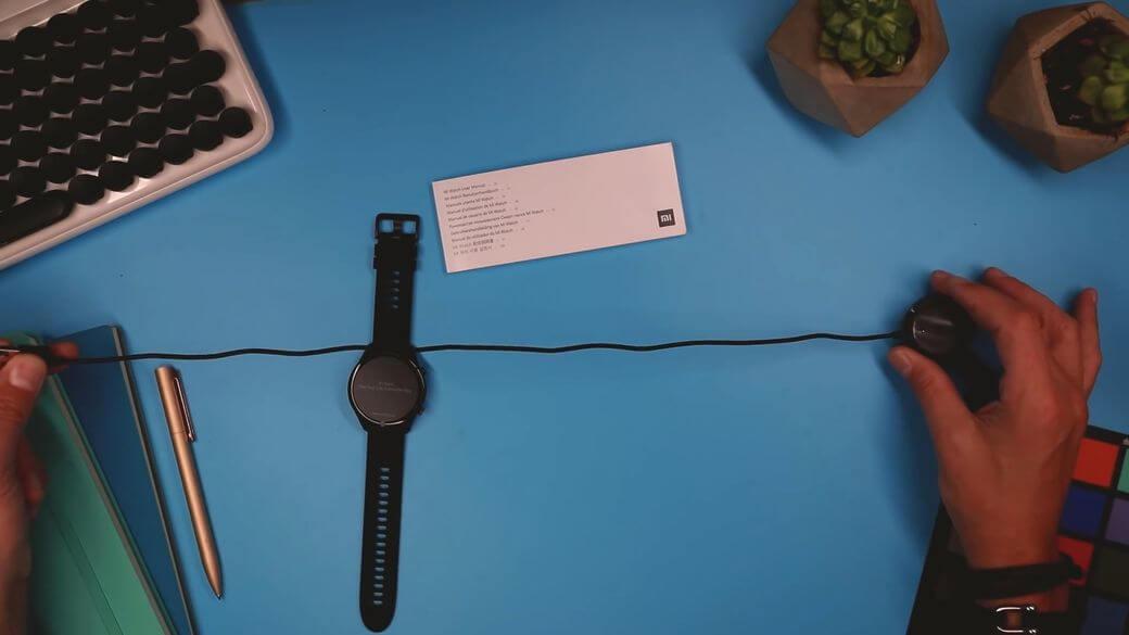 комплектация Xiaomi Mi Watch Global Глобальная версия 2021