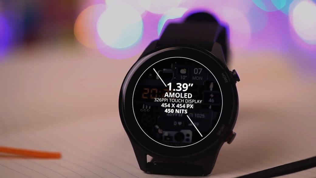 особенности экрана Xiaomi Mi Watch Global Глобальная версия 2021