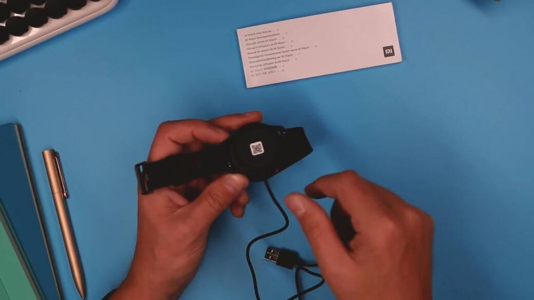 зарядка Xiaomi Mi Watch Global Глобальная версия 2021