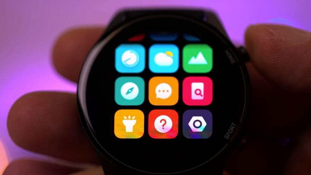 главное меню функций Xiaomi Mi Watch Global Глобальная версия 2021