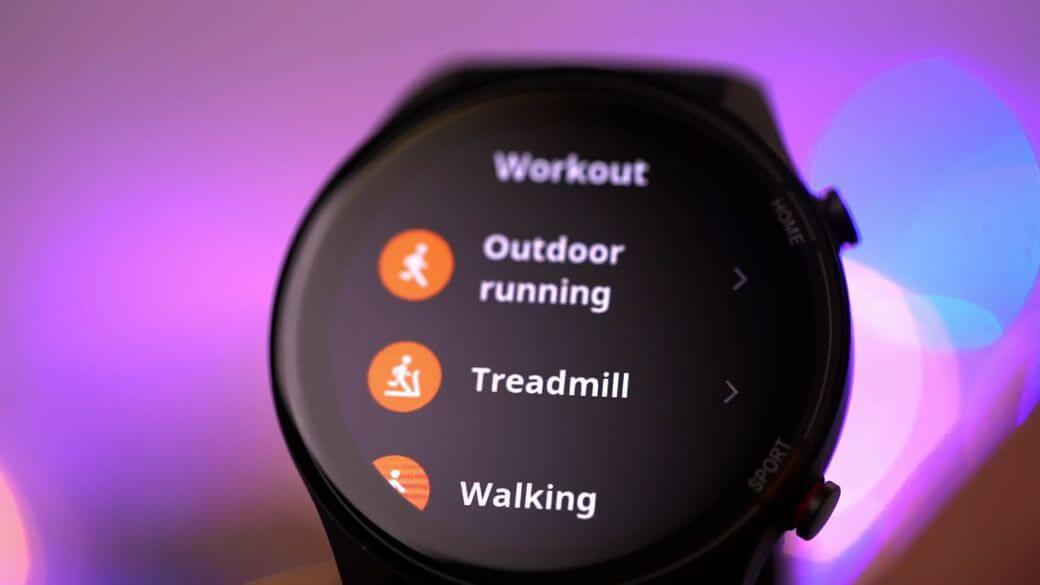 спортивные режимы тренировки Xiaomi Mi Watch Global Глобальная версия 2021