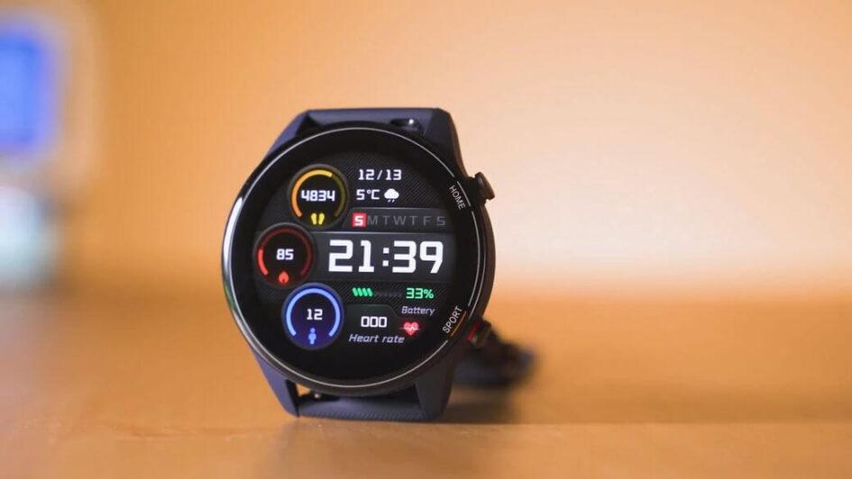 циферблат Xiaomi Mi Watch Global Глобальная версия 2021