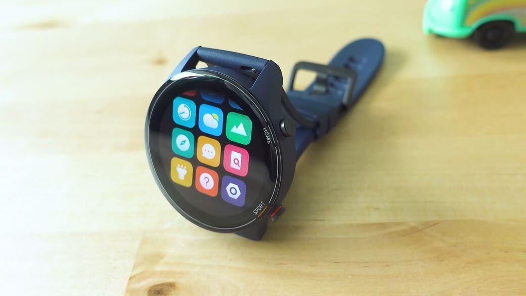углы обзора AMOLED экрана Xiaomi Mi Watch Global Глобальная версия 2021