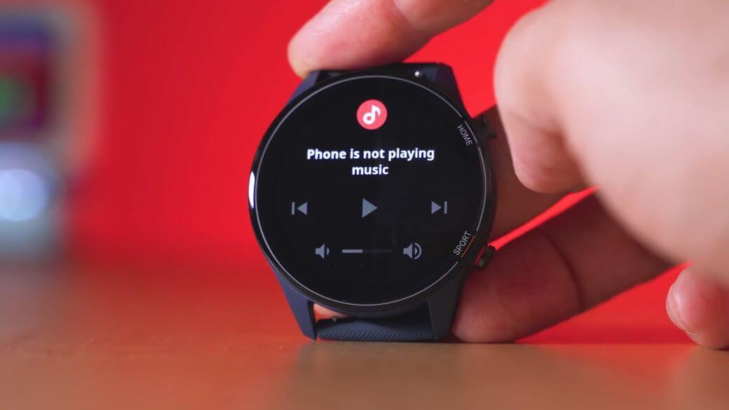музыкальный плеер Xiaomi Mi Watch Global Глобальная версия 2021