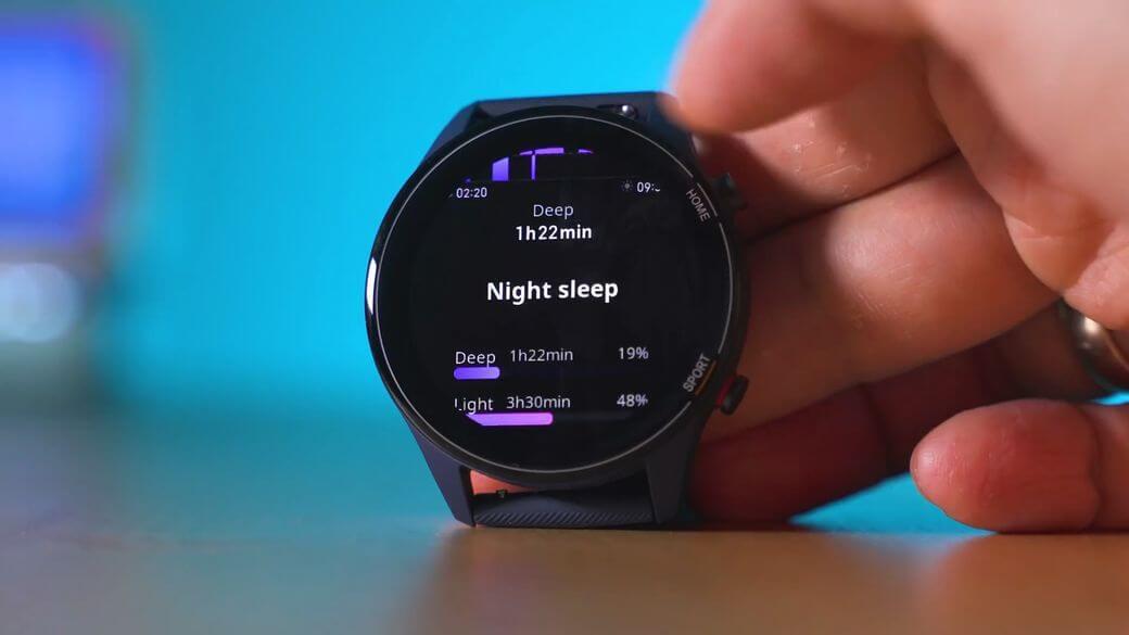 качество сна Xiaomi Mi Watch Global Глобальная версия 2021