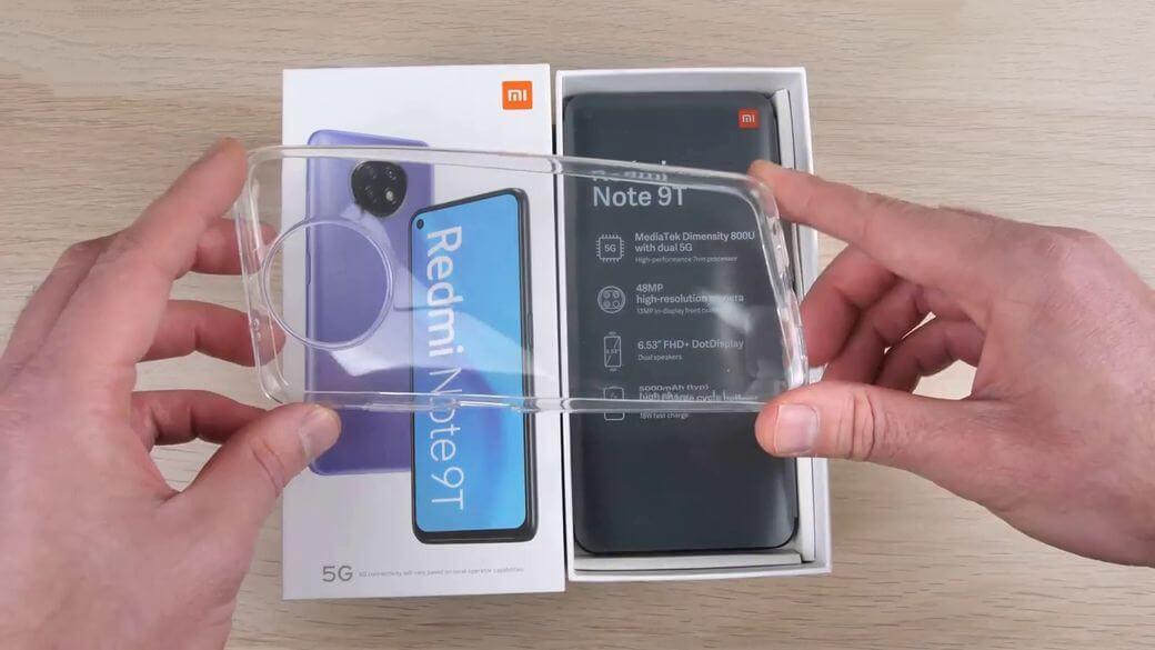 Xiaomi Redmi Note 9T 5G силиконовый чехол