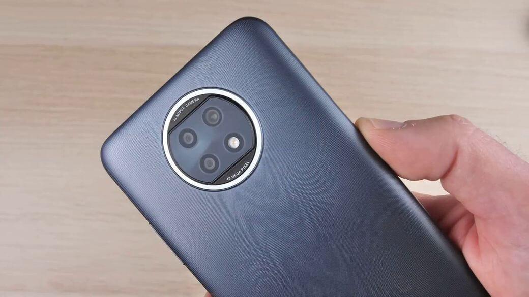 Xiaomi Redmi Note 9T 5G модуль основной камеры