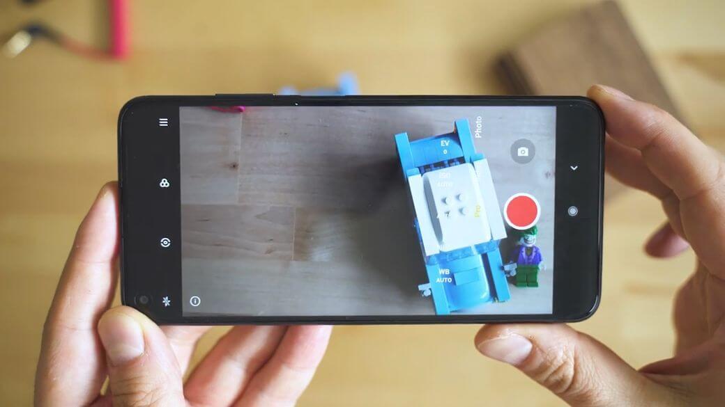 Xiaomi Redmi Note 9T 5G приложение в камере