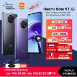 Xiaomi Redmi Note 9T 5G со скидкой 35%