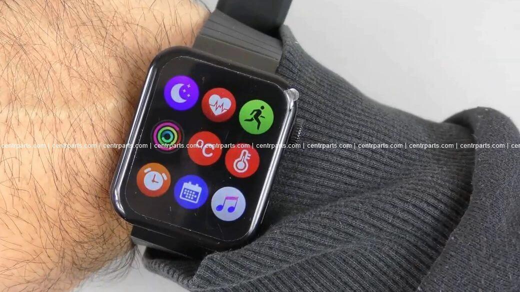 Kiwitime M1 Обзор: Лучшая копия дизайна Xiaomi Mi Watch за $30