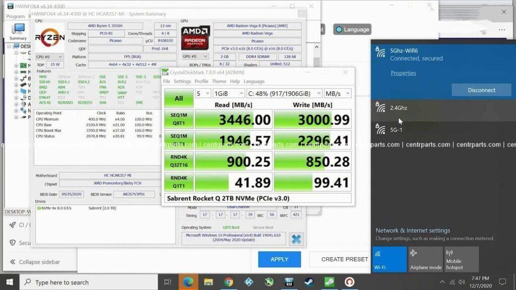 T-Bao TBOOK MN35 Обзор: Мощный мини ПК с AMD Ryzen 5 3550H