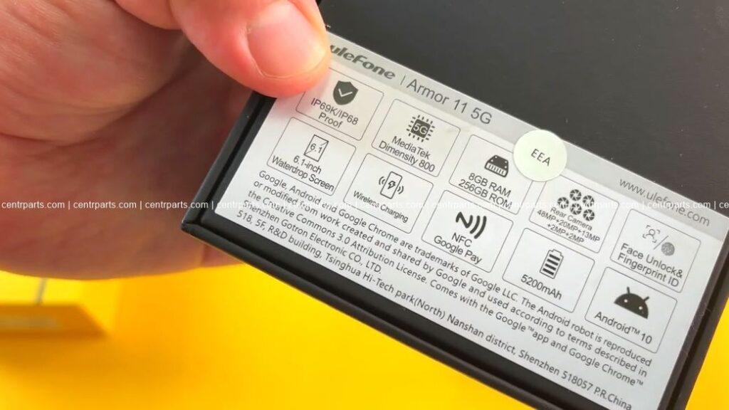 Ulefone Armor 11 5G Обзор: Защищенный смартфон с 5 камерами