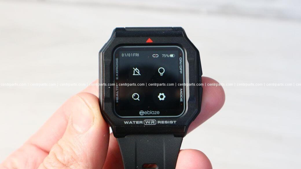 Zeblaze Ares Обзор: Ретро умные часы с цветным сенсорным экраном