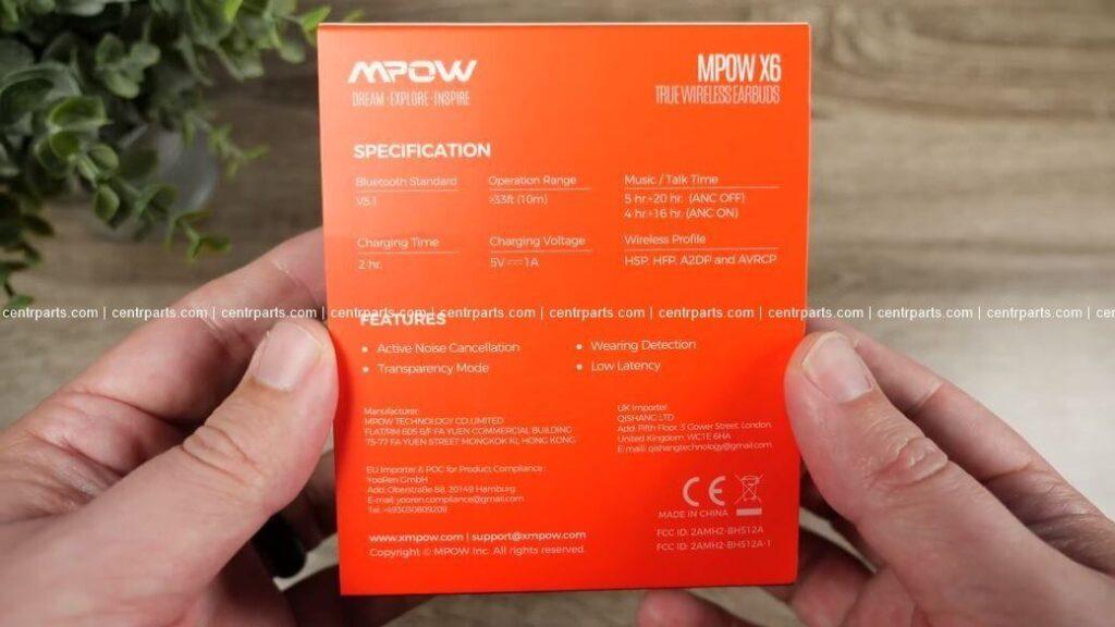Mpow X6 Обзор: Что можно ожидать от бюджетных TWS наушников в 2021?