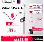 Oclean X Pro Elite со скидкой 20% OFF
