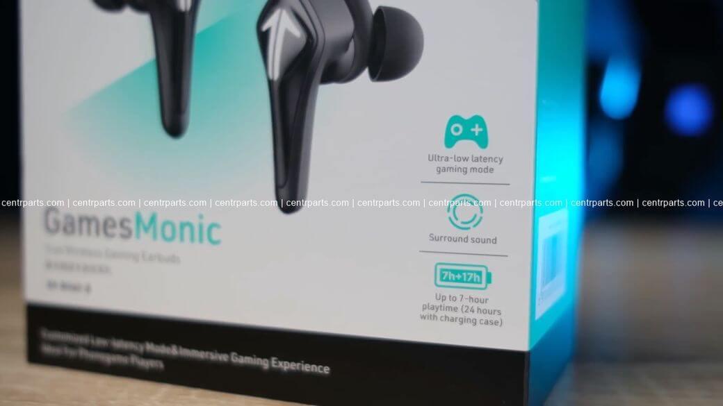 Saramonic SR-BH60 Обзор: Настоящие игровые TWS наушники 2021