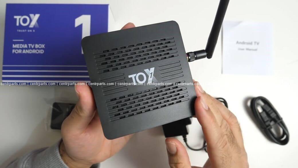 TOX 1 Обзор: Недорогая ТВ приставка c Amlogic S905X3 за $45