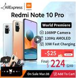 Xiaomi Redmi Note 10 Pro со скидкой 50%