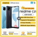 Realme C21 со скидкой 40%