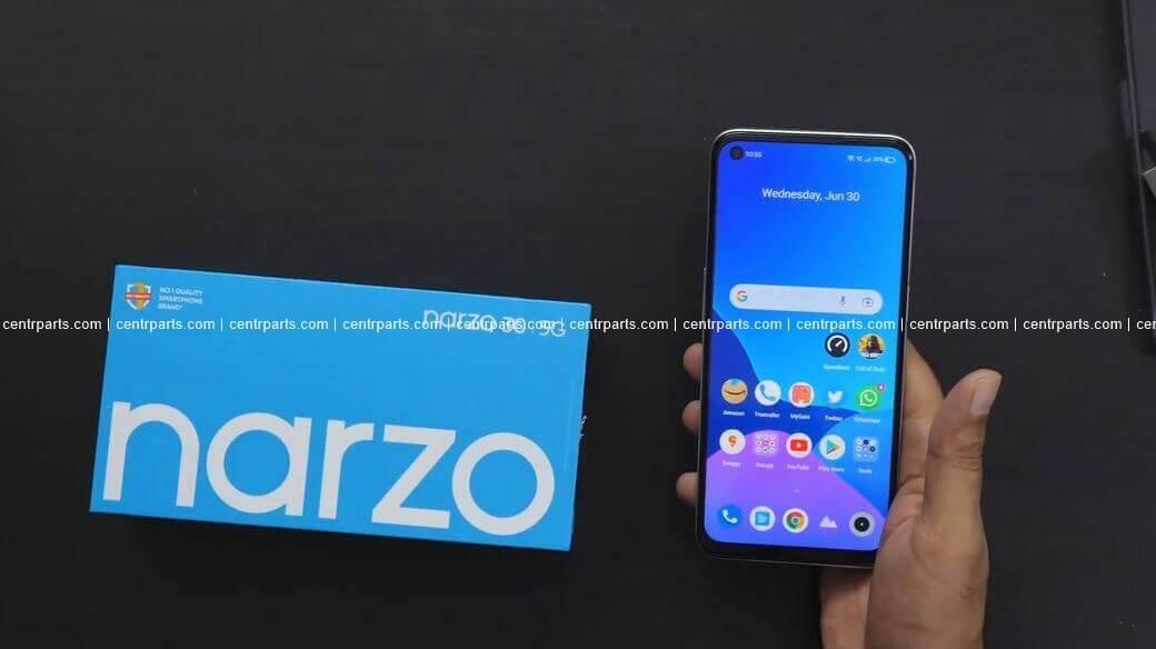 Realme Narzo 30 5G Обзор: Недорогой смартфон с поддержкой 5G сети