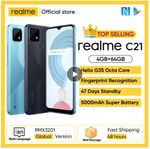 Realme C21 со скидкой 49%