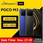 Xiaomi Poco M3 со скидкой 30%