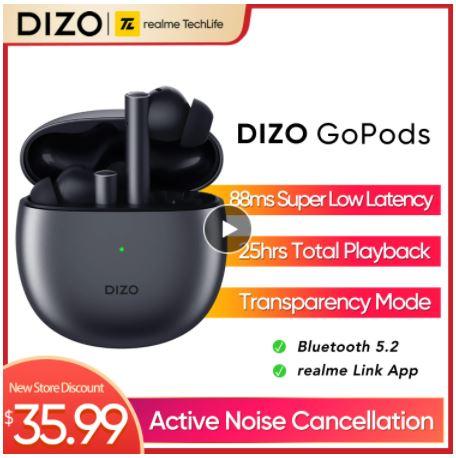 Dizo GoPods со скидкой 30%