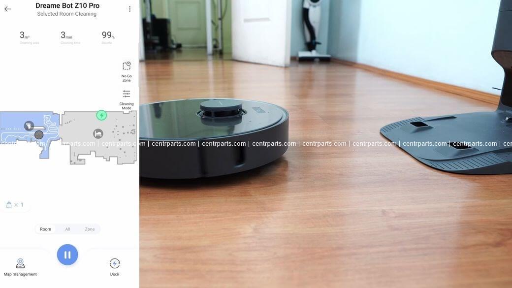 Dreame Z10 Pro Обзор: Робот пылесос с самоочисткой с 3D сенсором